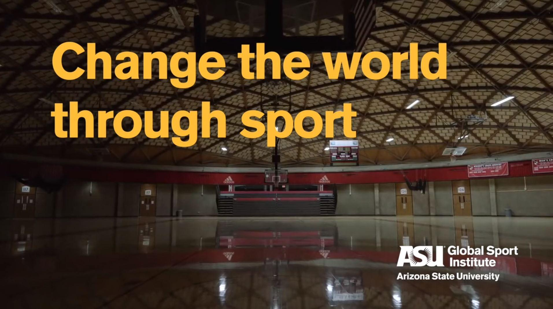 Changing the world through sport