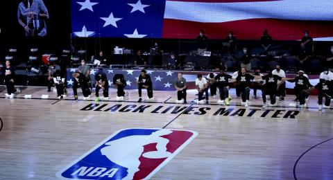 NBA taking a knee