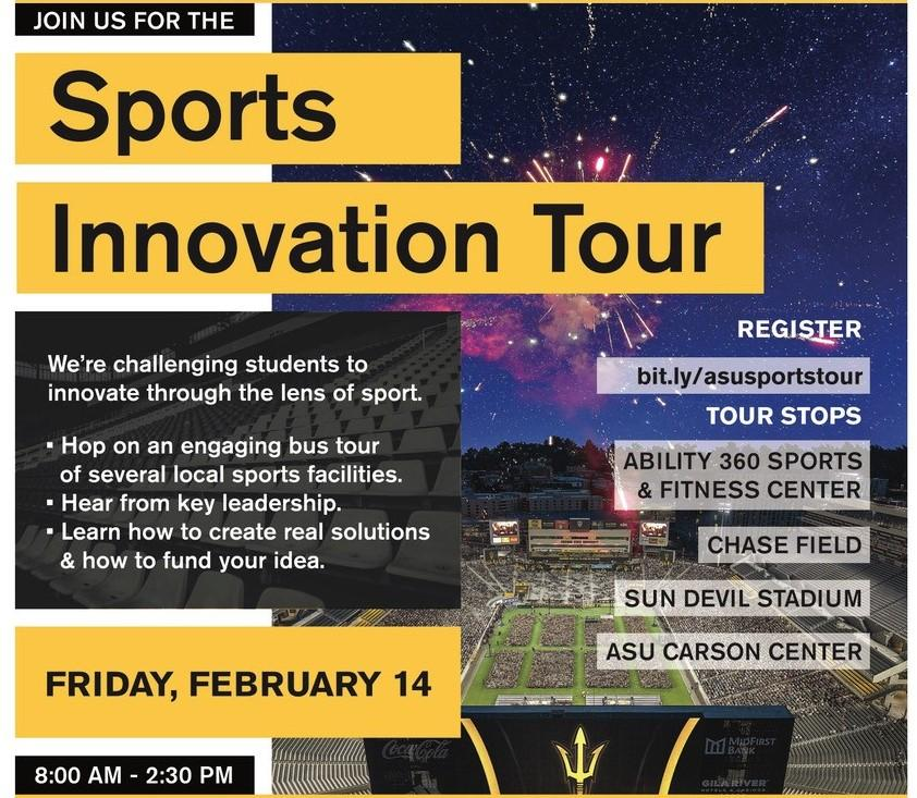 Sport Innovation Tour Flyer