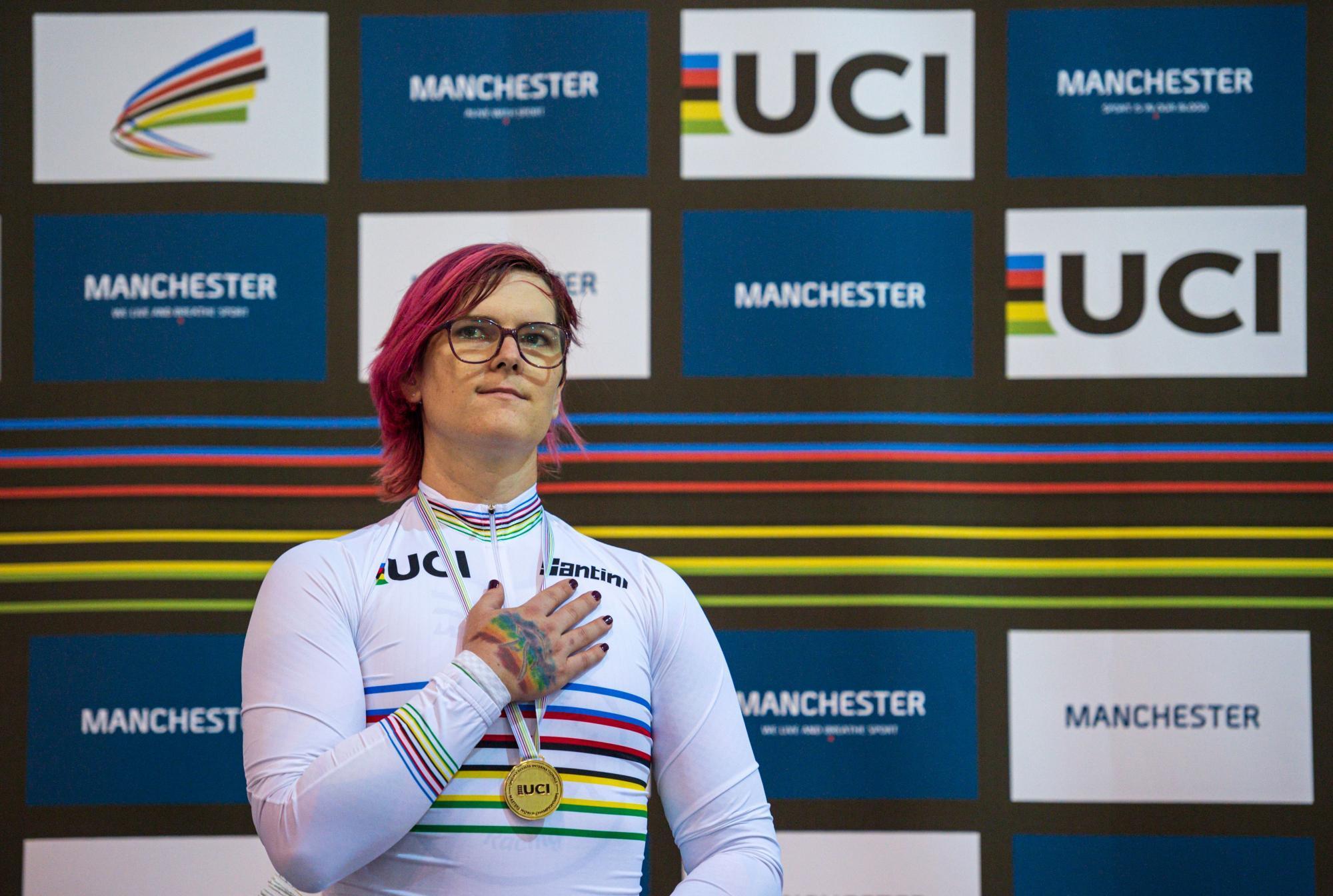 McKinnon trans Olympic athlete