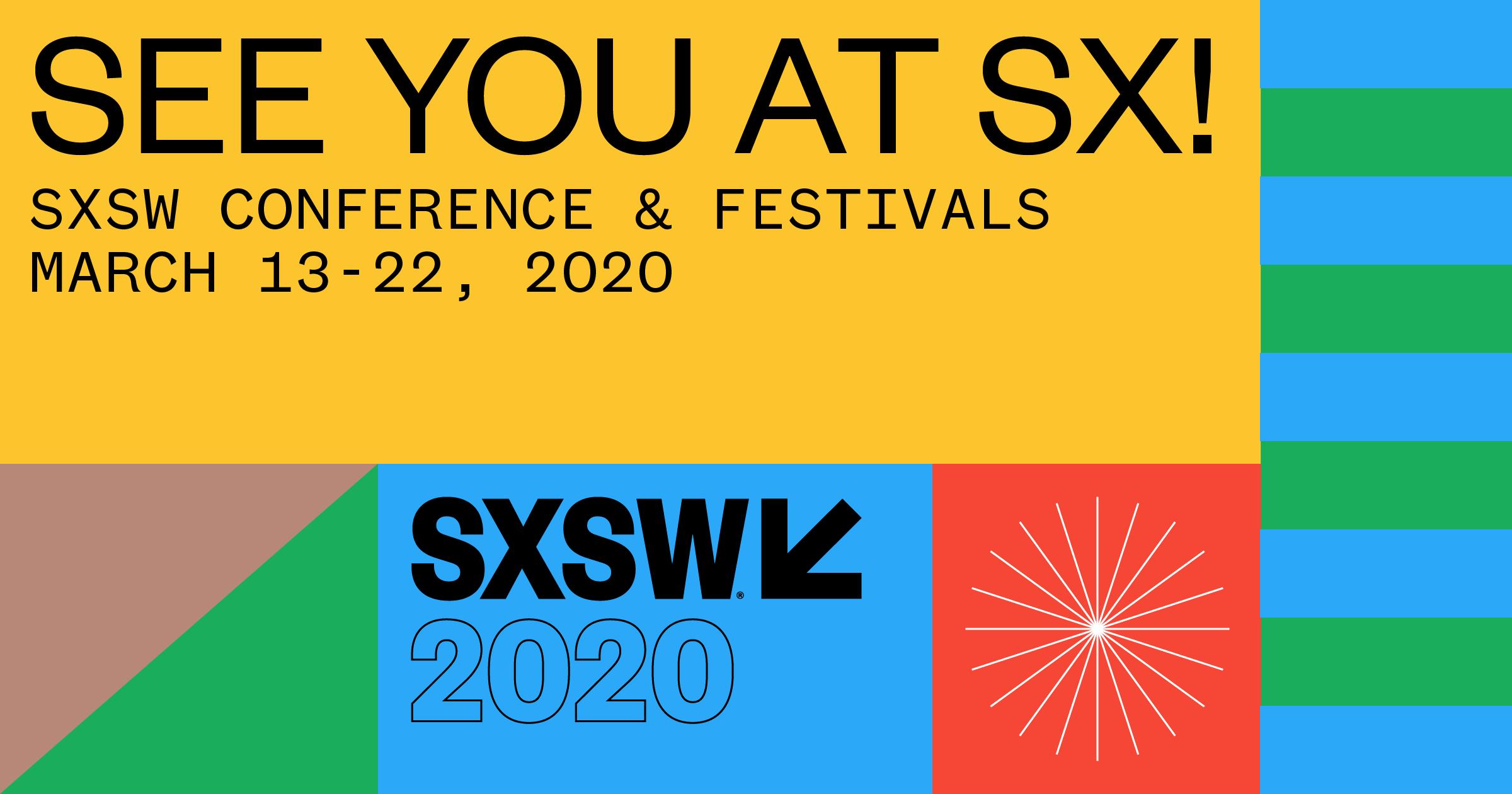 SXSW 2020 Conference & Festivals logo